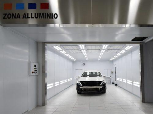 Nuova zona alluminio Carrozzeria Piacenti